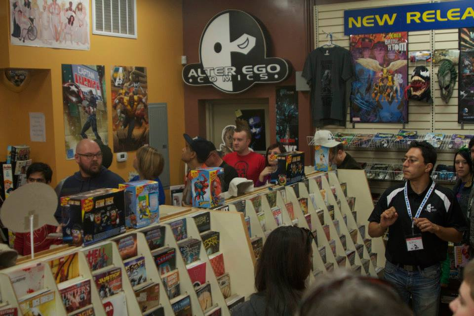 Alter Ego Comics' recent grand re-opening