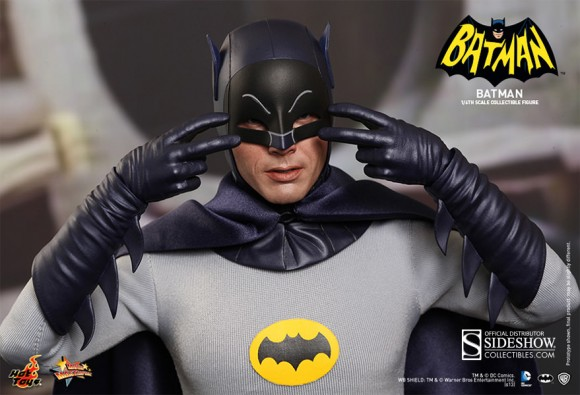That's NOT Adam West. That's an action figure coming out next year from Hot Toys!