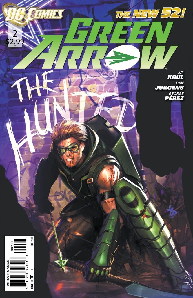 Green Arrow #2 in DC's New 52.