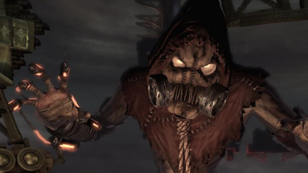 Seriously  That is scary  Scarecrow Mask Arkham City