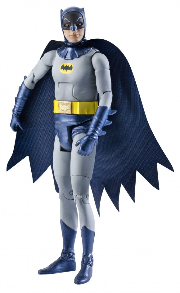 Holy plastic likeness! The Mattel Batman is dead on!