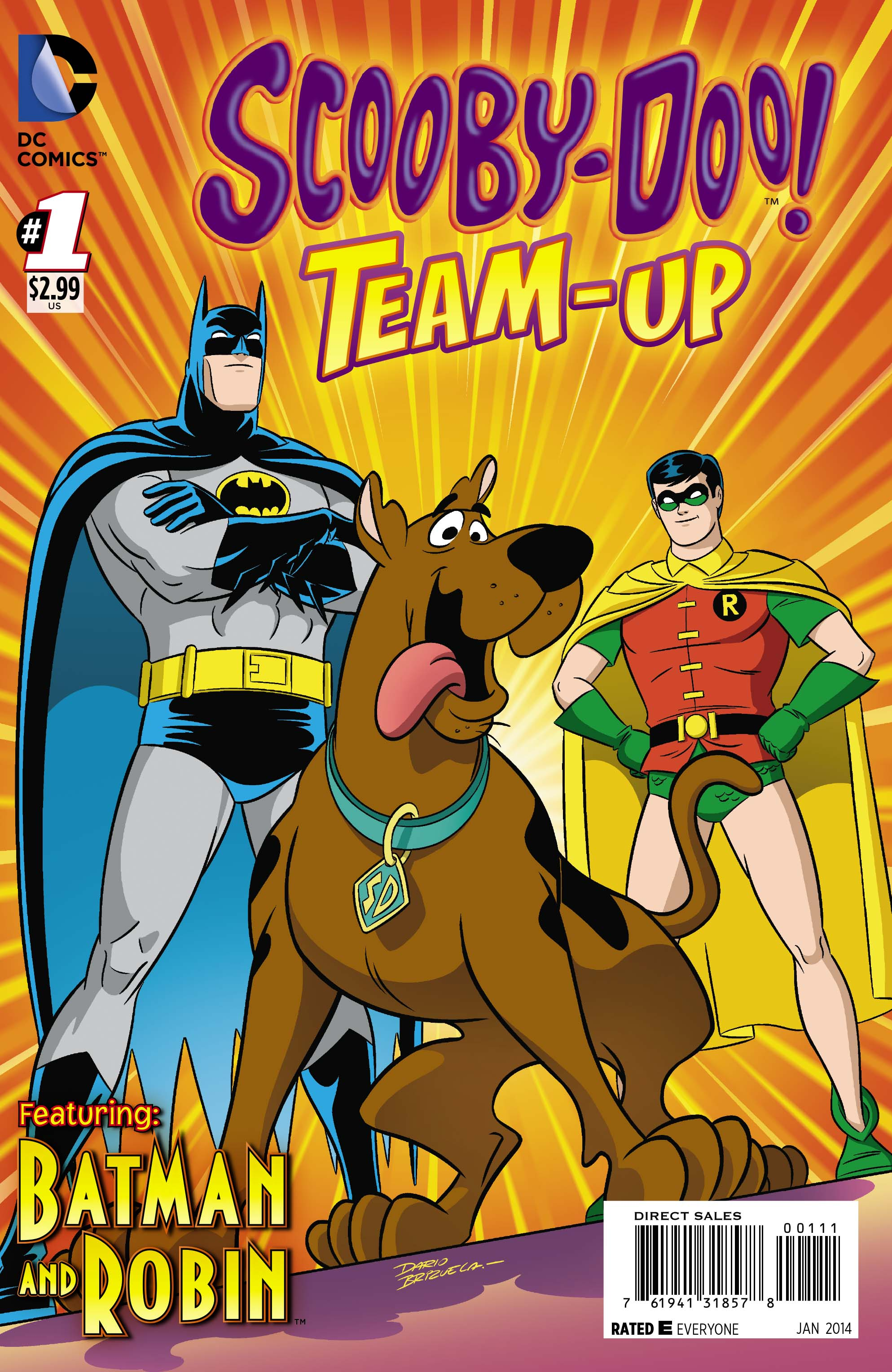 EXCLUSIVE PREVIEW: Scooby-Doo Team-Up #1, Starring Batman ...
