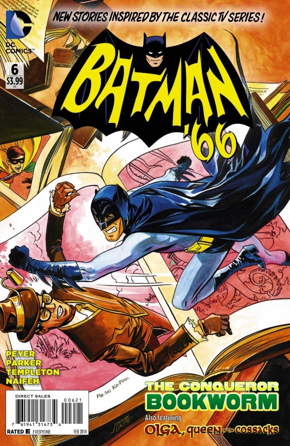 Variant cover. Jonathan Case art!