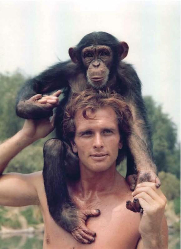 Ron Ely as Tarzan.