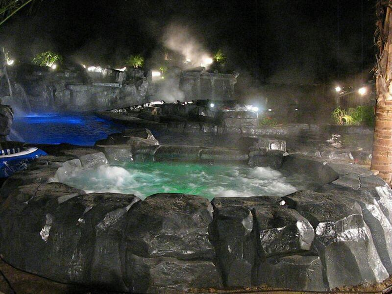 Holy hot tub! That's Burt Ward's pool!