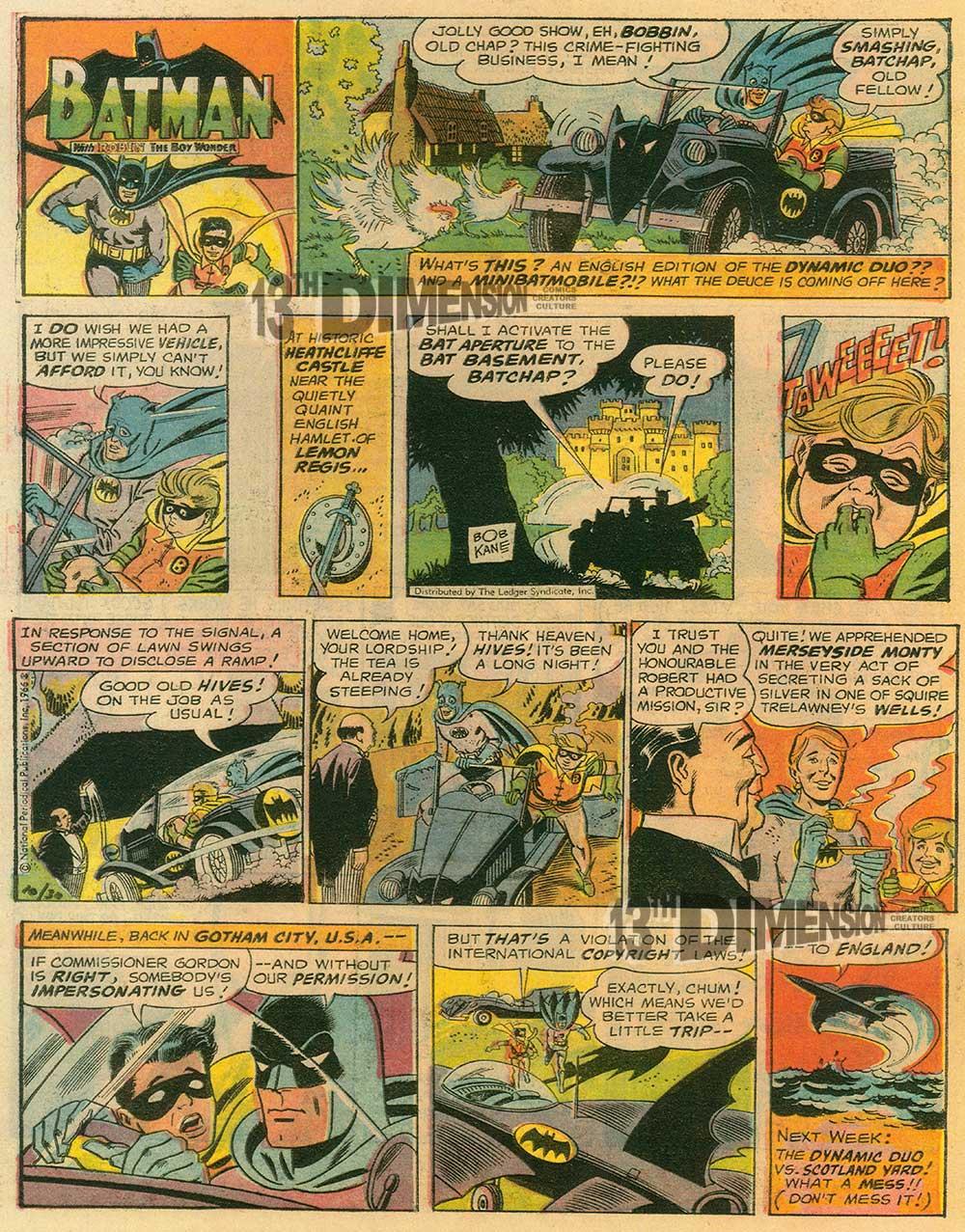 Tabloid version. Batman ™ and © 2014 DCComics.