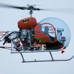 The Original BATCOPTER Takes to the Skies Again