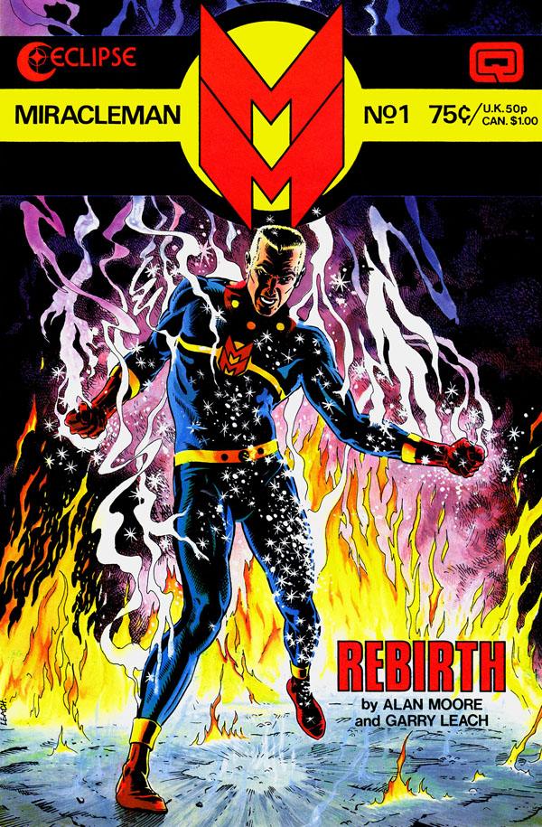MIRACLEMAN #1 (1985), art by Alan Davis and Gary Leach