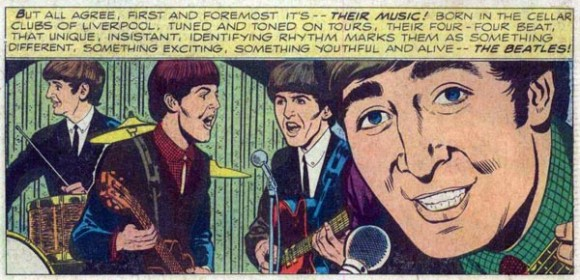 The Beatles #1 (1964), pencils by Joe Sinnott