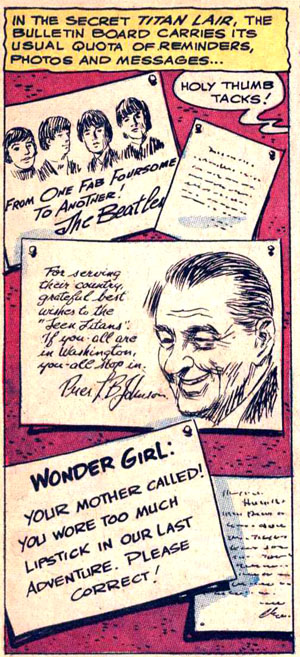 Teen Titans #11 (1967), script by Bob Haney, art by Irv Novick and Nick Cardy