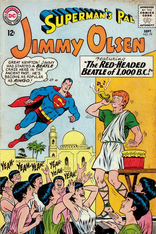Jimmy Olsen #79 (1964), art by Curt Swan and George Klein