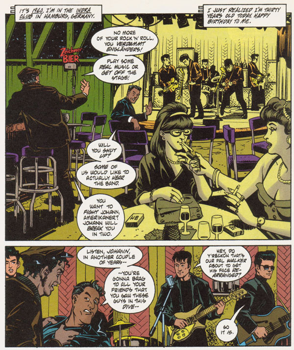 Chronos #1 (1998), script by John Francis Moore, art by Paul Guinan, inks by Steve Leialoha