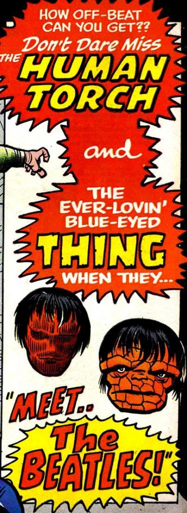 Strange Tales #130 (1965), art by Jack Kirby and Chic Stone