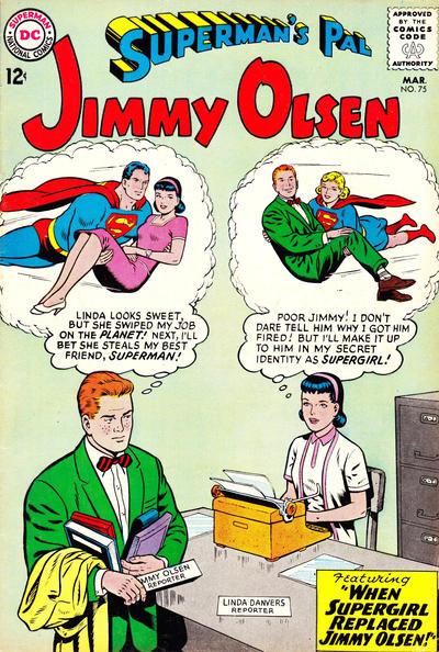 Superman's Pal Jimmy Olsen #75 by Jerry Siegel (w) Curt Swan, George Klein (c/a)