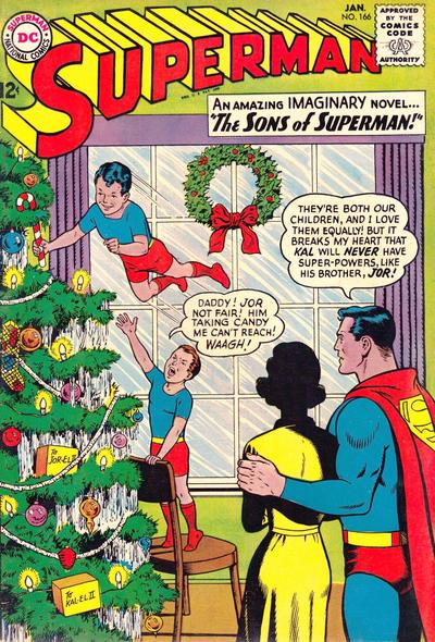 Superman #166 by Curt Swan & George Klein (c/a) 1964