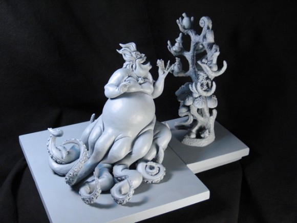 An Ursula maquette
