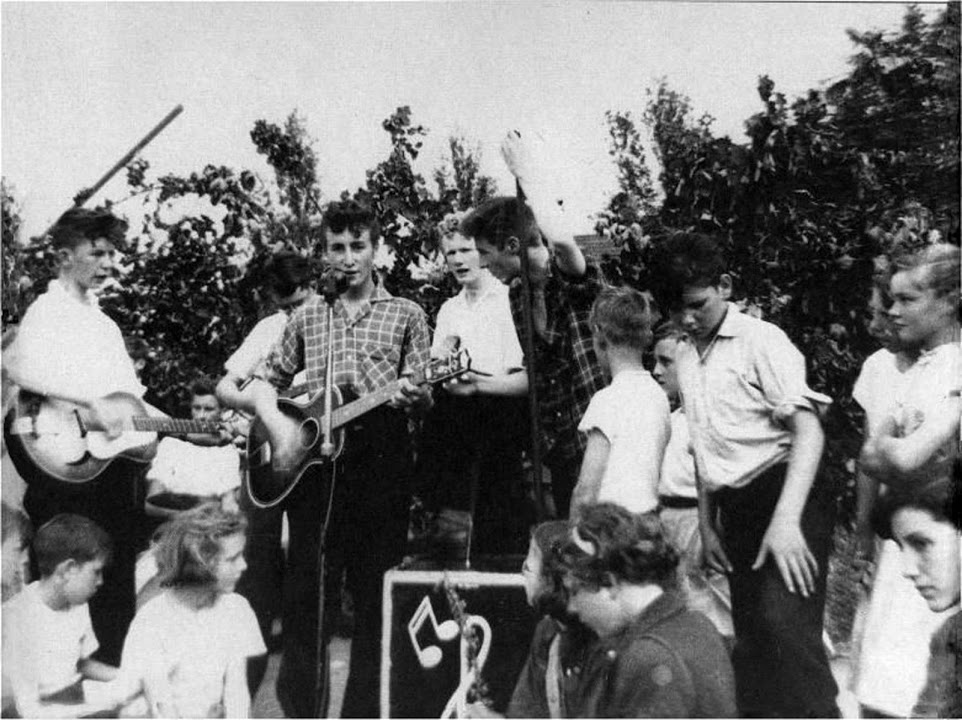 The Quarrymen, Woolton Fete, 1958