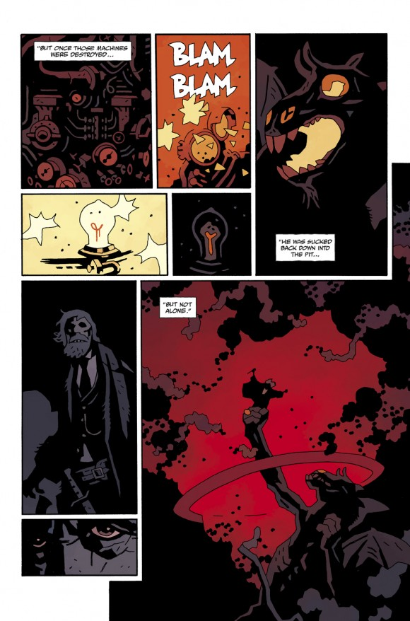 Hellboy in Hell #4, Page 11