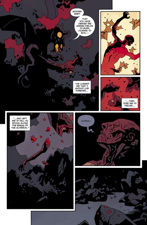 Hellboy in Hell #4, Page 12