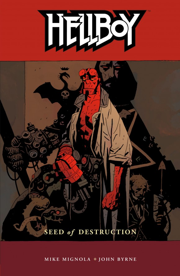 The first Hellboy collection.