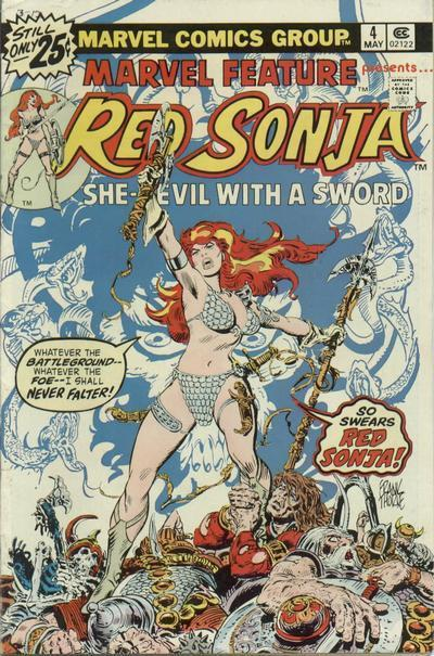 Marvel Features: Red Sonja #4