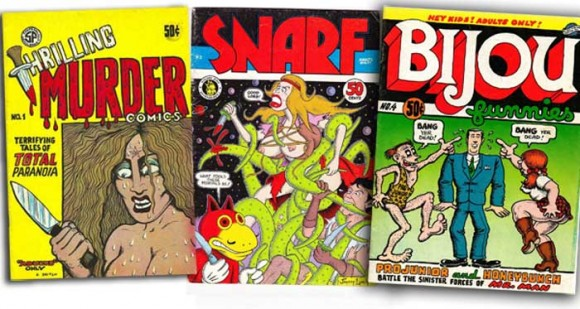 Underground Comix of the early 70's unlike anything Eisner had seen before.