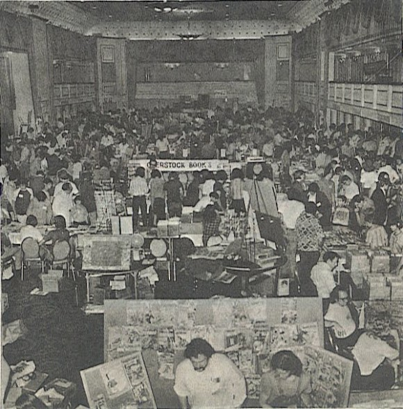 Phil Seuling's Comic Art Convention of the early 1970s NYC.