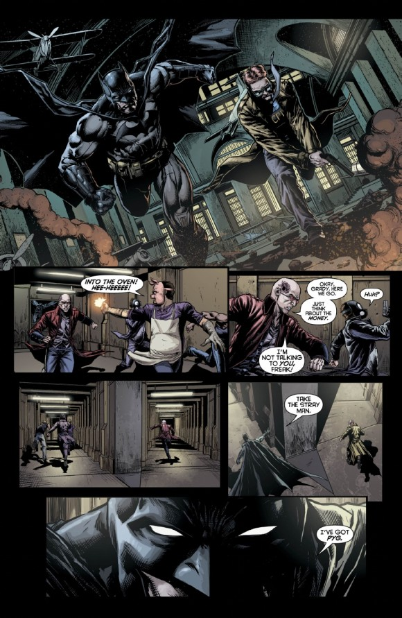 Batman and Gordon spring into action, which is awesome to see.