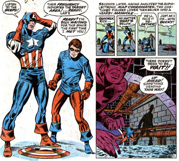 JIM STERANKO Three Issues of CAPTAIN AMERICA and the Truth  13th