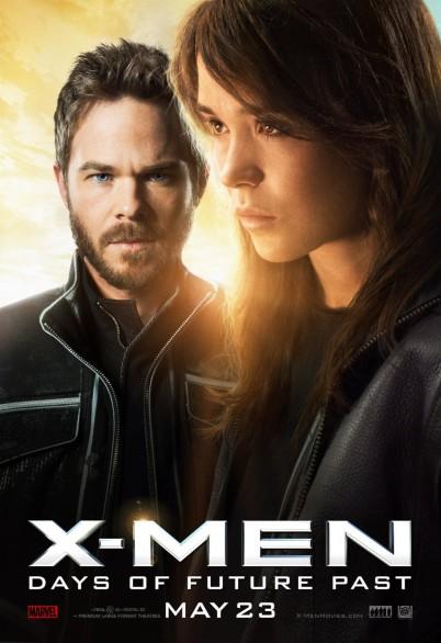Hugh Jackman and Ellen Page in X-Men: Days of Future Past