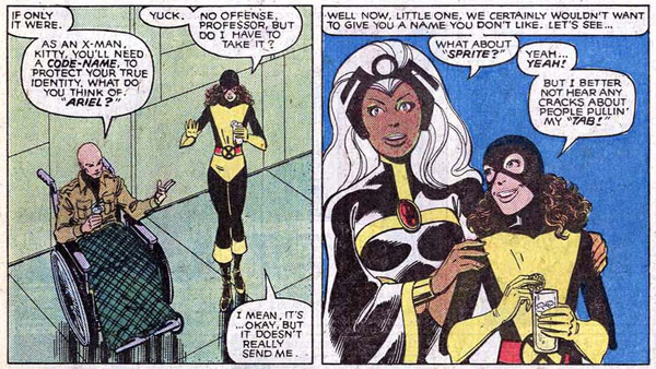 from [Uncanny] X-Men #139 (1980), script by Chris Claremont, art by John Byrne and Terry Austin