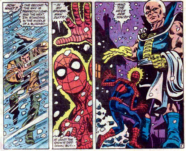 Marvel Team-Up #127 (1983), script by J. M. DeMatteis, art by Kerry Gammill and Mike Esposito