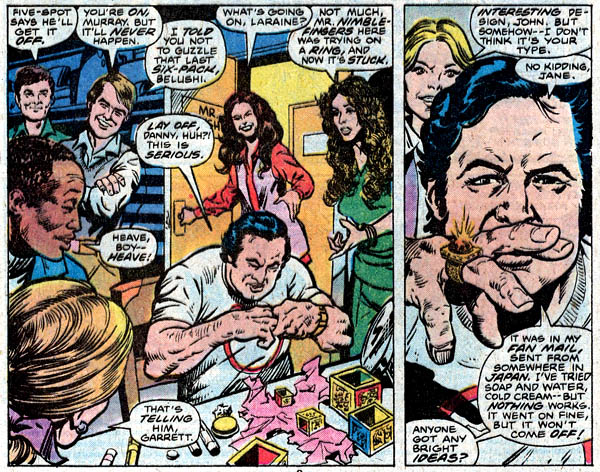 Script by Chris Claremont, art by Bob Hall and Marie Severin