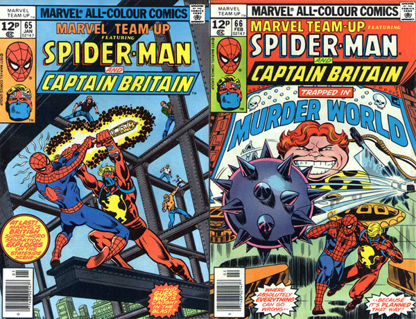 Marvel Team-Up #65-66 (1978), art by George Perez and Joe Sinnott (#65); John Byrne and Frank Giacoia (#66)