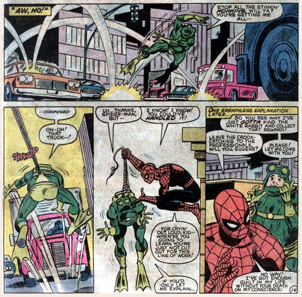 Marvel Team-Up #131 (1983), script by J. M. DeMatteis, art by Kerry Gammill and Mike Esposito