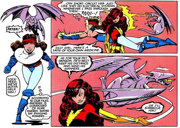 from Uncanny X-Men #175 (1983), script by Chris Claremont, art by Paul Smith and Bob Wiacek