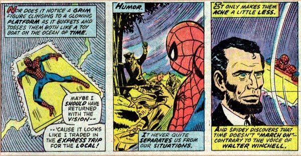 Marvel Team-Up #45 (1976), script by Bill Mantlo, pencils by Sal Buscema, Mike Esposito, and Dave Hunt