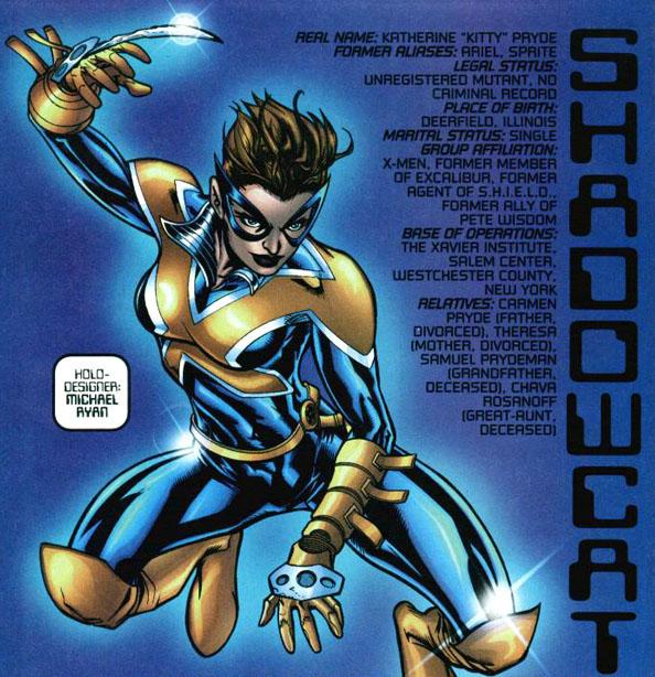 from X-Men: Declassified one-shot (2000), script by Karl Bollers, art by Michael Ryan