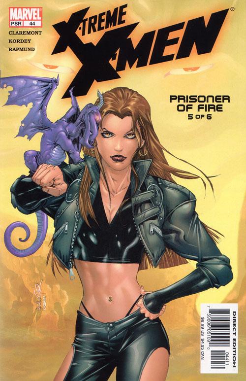 cover of X-Treme X-Men #44 (2004), art by Salvador Larroca