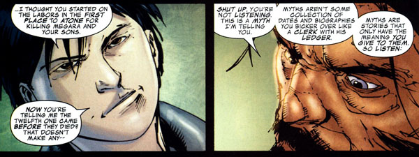 Incredible Hercules #115 (2008); script by Greg Pak and Fred Van Lente; art by Khoi Pham, Paul Neary, and Danny Miki