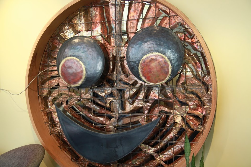 Sculpture by John Henson in the New York Muppet Workshop