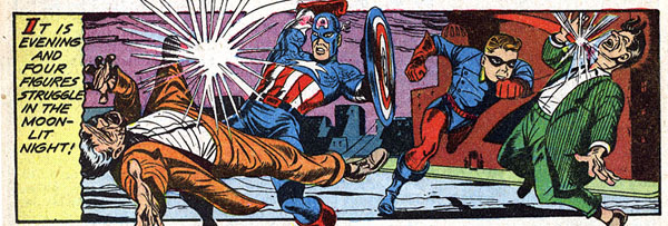 from Captain America Comics #19 (1942)