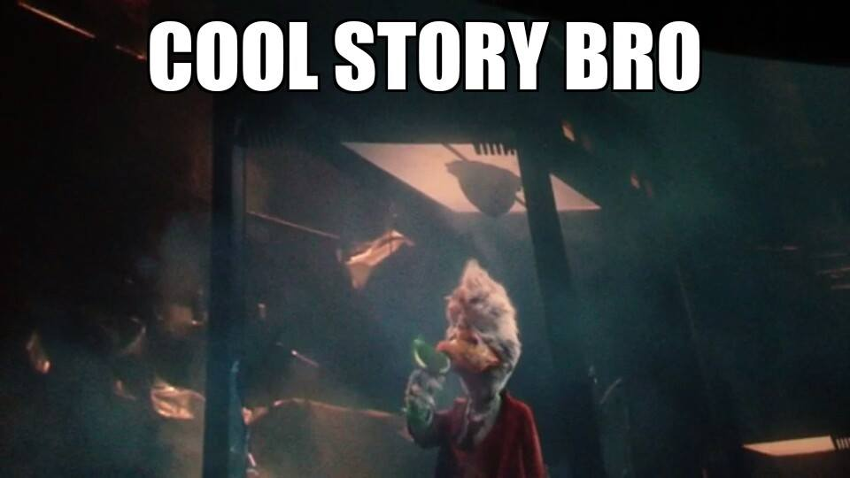 galaxy duck jpg Howard The Duck Guardians Of The Galaxy Gif