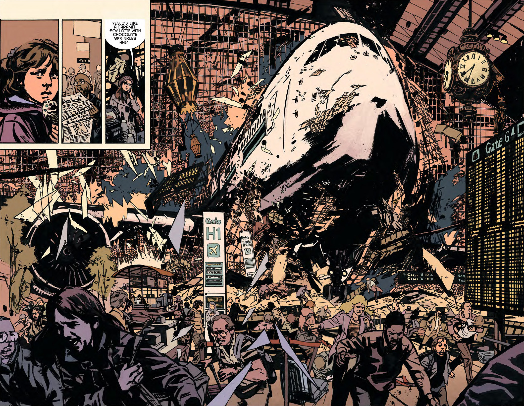 Art by JP Leon, from Detective Comics #35.