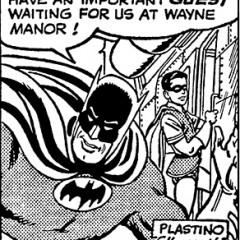 A BATMAN A DAY #8: Superman Lassoes the Batcopter