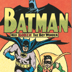 A BATMAN A DAY #7: Your Full-Color Sunday Strip!