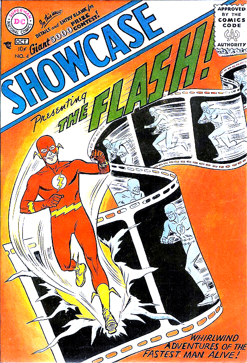 SHOWCASE #4-Flash