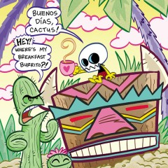 EXCLUSIVE Preview — ITTY BITTY COMICS: GRIMMISS ISLAND #4