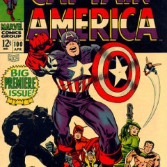 13 COVERS: KIRBY's Silver Age CAPTAIN AMERICA