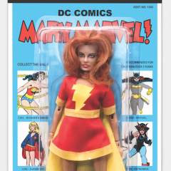 EXCLUSIVE! Here's the First-Ever MARY MARVEL Mego